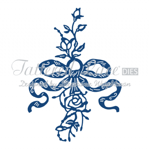 Tattered Lace Die Flower Embellishment - D796